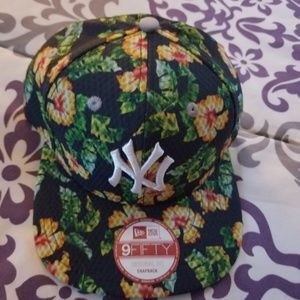 Mens Newyork 9fifty tropical print snapback hat